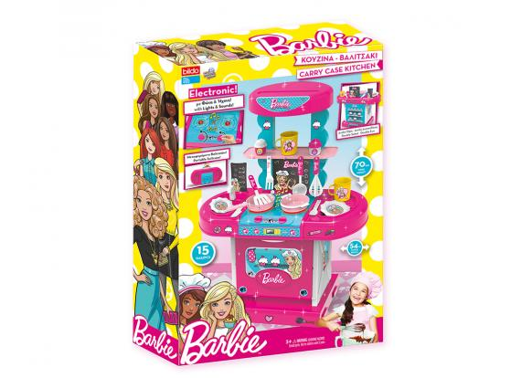 Barbie, -Licensed Products - Barbie Carry Case Kitchen