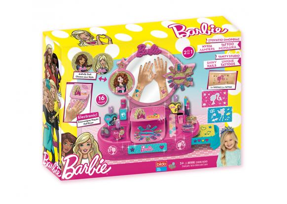 Barbie, -Licensed Products - Barbie Shiny Nails Vanity Studio