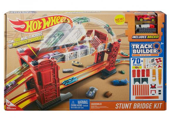 Hot Wheels - Track Builder Stunt Bridge Kit