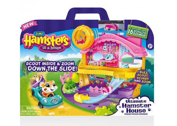 Hamsters in a House - Food Frenzy Ultimate Hamster House