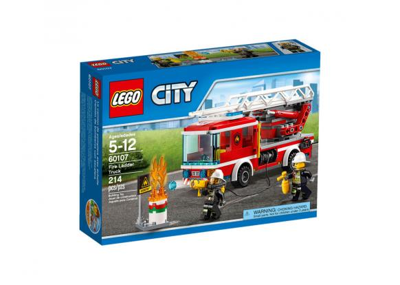 Lego, -City - 60107 Fire Ladder Truck