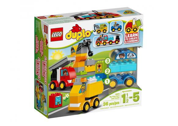 Lego, -Duplo - 10816 My First Cars and Trucks