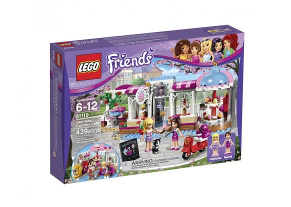 Lego, -Friends - 41119 HeartLake Cupcake Café