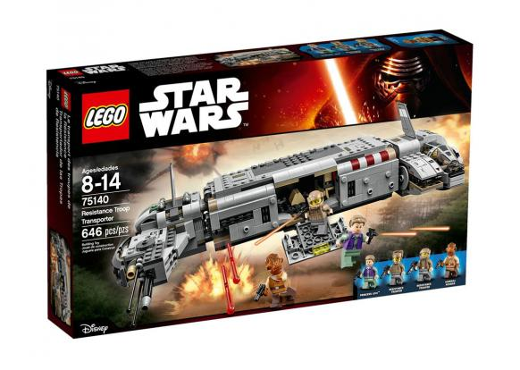 Lego, -Star Wars - 75140 Resistance Troop Transporter