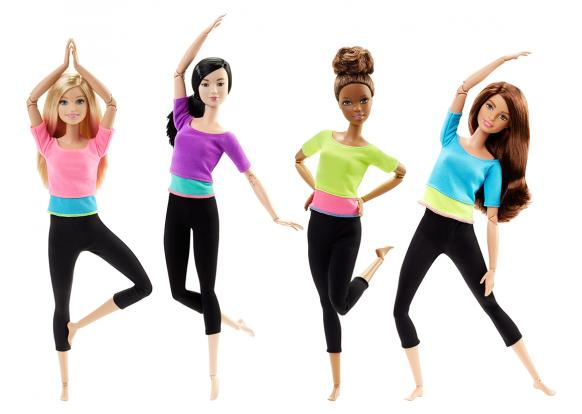 Barbie, -Fashion - Made to Move Dolls