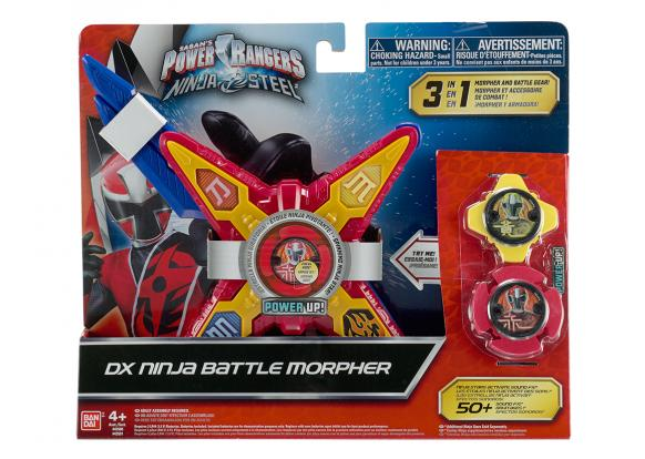 Power Rangers, -Ninja Steel - DX Ninja Battle Morpher