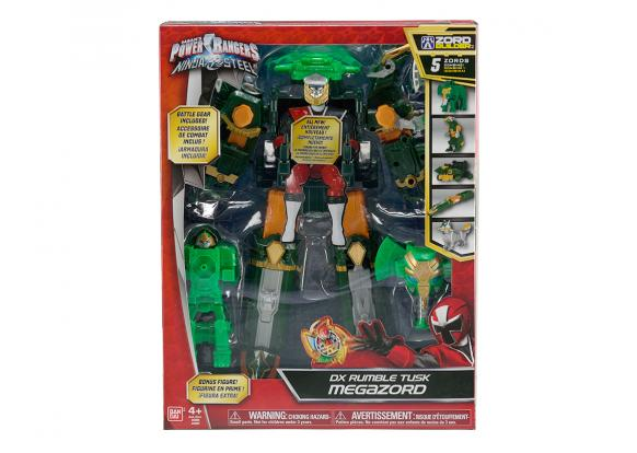 Power Rangers, -Ninja Steel - DX RUMBLE TUSK MEGAZORD