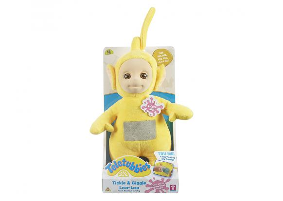 Teletubbies - Tickle & Giggle Interactive Soft Toys