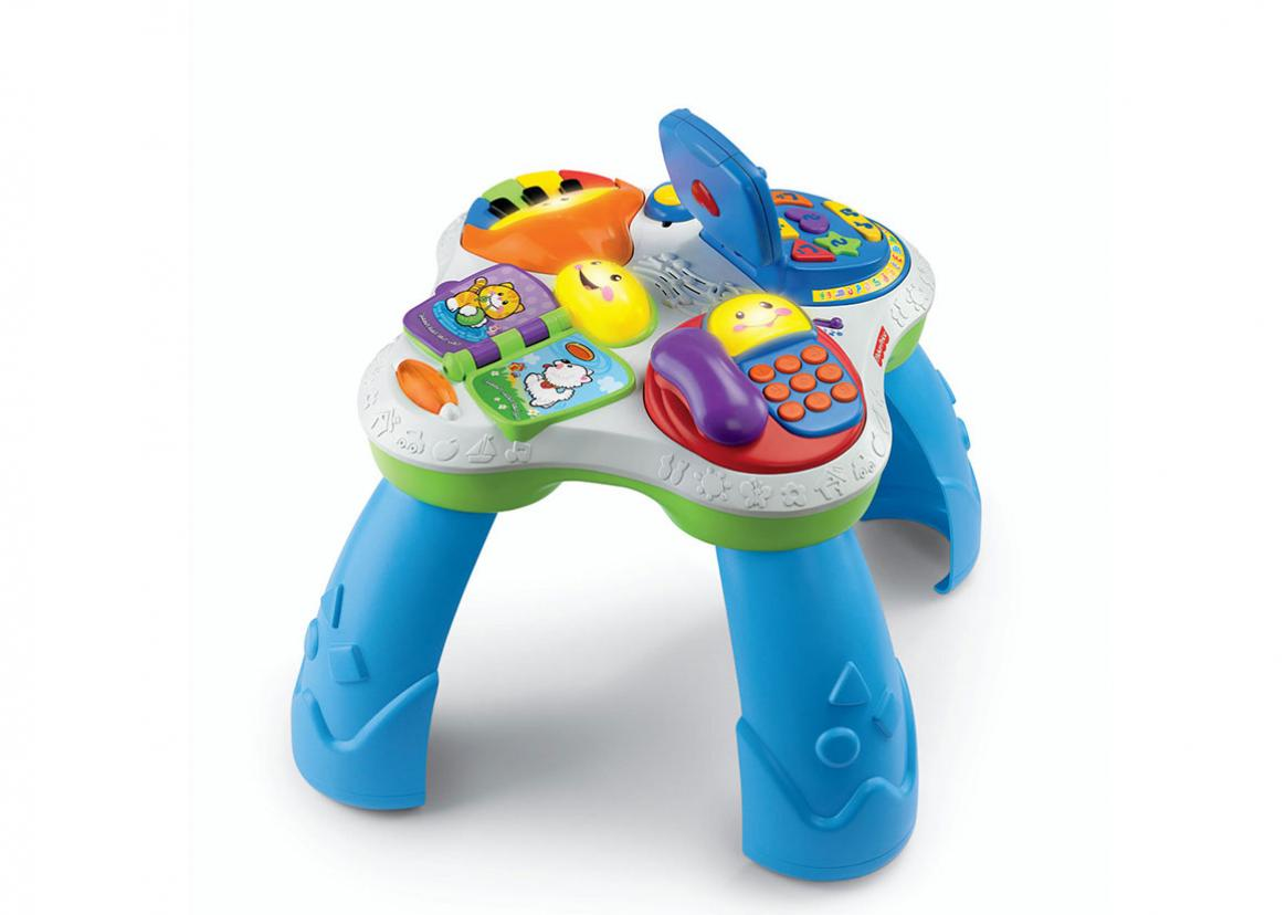 Laugh Amp Learn Fun With Friends Musical Table Toy Triangle