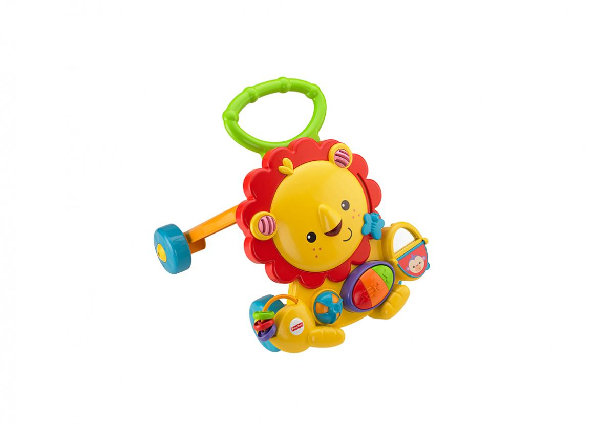 Musical Lion Walker | Toy Triangle