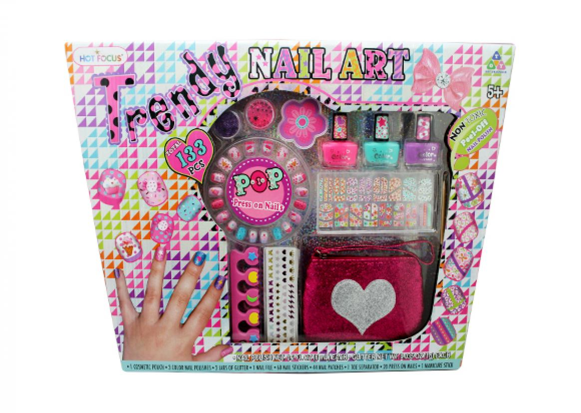 Trendy Nail Art Set | Toy Triangle