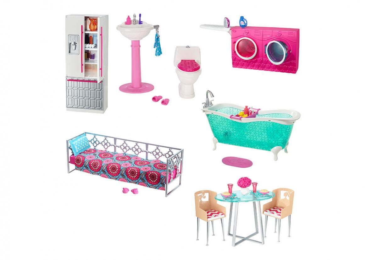 Barbie Furniture Assortment Toy Triangle