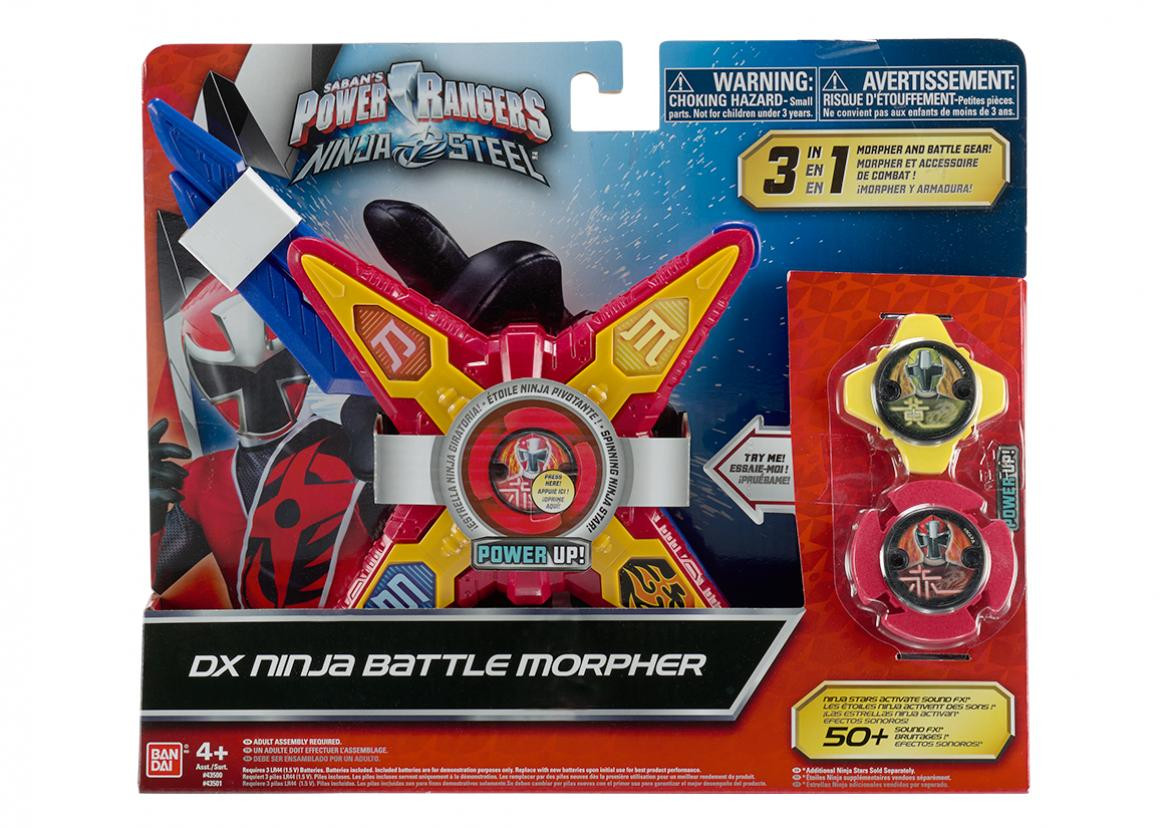 Dx  Battle Morpher NEW Power Rangers Ninja Steel