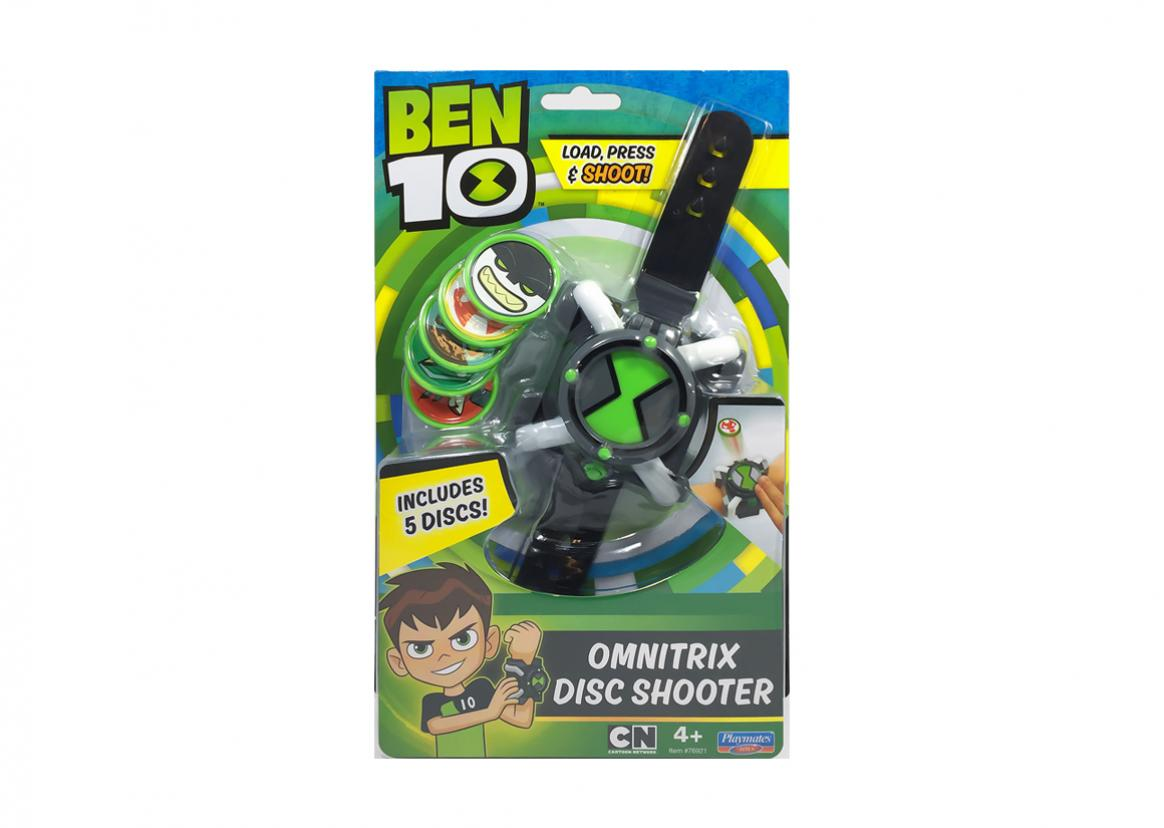 Omnitrix Disc Shooter Toy Triangle Coloring Pages Ben 10 Mix